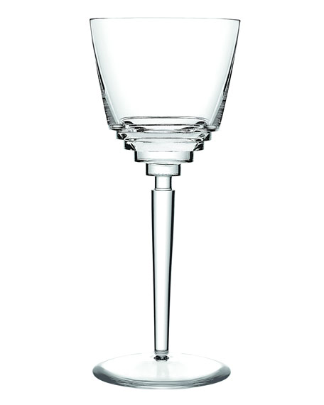 Saint Louis Crystal Oxymore Water Glass