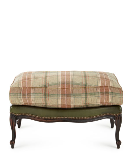 Old Hickory Tannery Gideon Bergere Ottoman