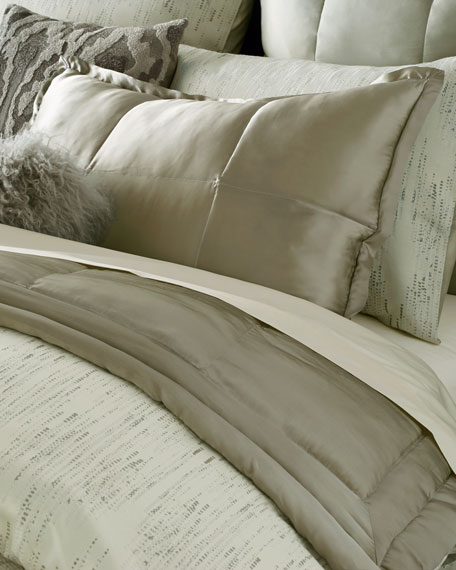 Donna Karan Home King Collection Silk Quilt
