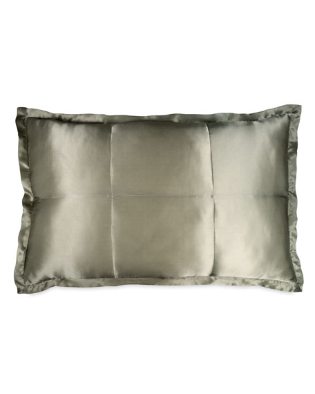 Donna Karan Home Standard Collection Quilted Silk Sham