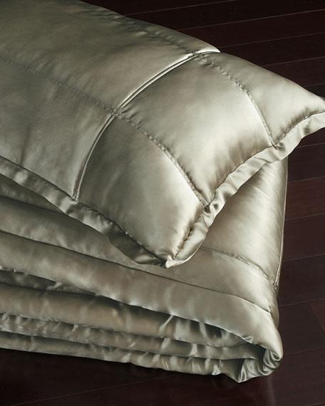 European Collection Quilted Silk Sham