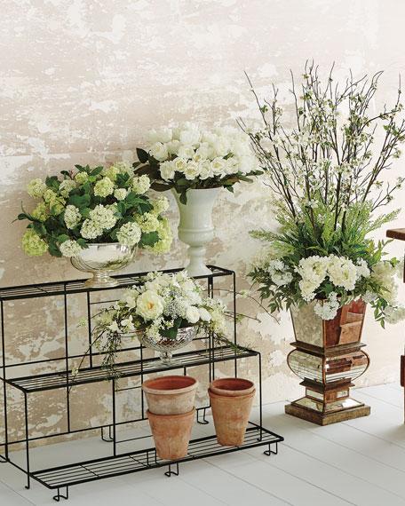 Cosmopolitan Faux-Floral Arrangement