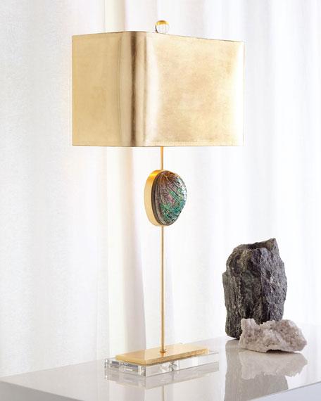 Neimanmarcus Abalone Buffet Lamp