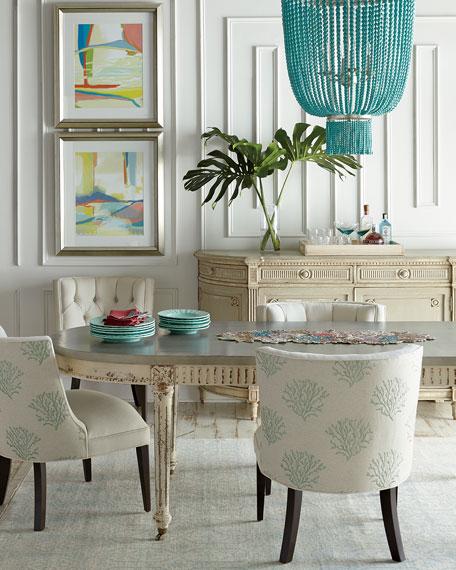 Haute House Tiffany Armless Dining Chair
