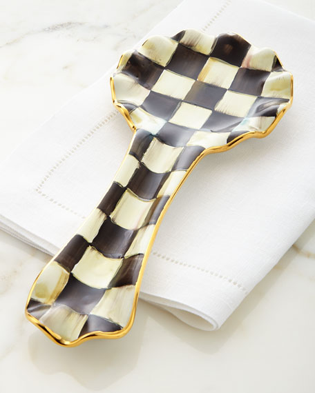 Courtly Check Spoon Rest