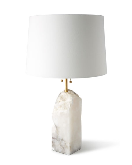Regina Andrew Design Raw Alabaster Lamp Neiman Marcus