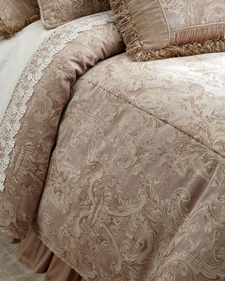 Dian Austin Couture Home King Dahlia Duvet Cover