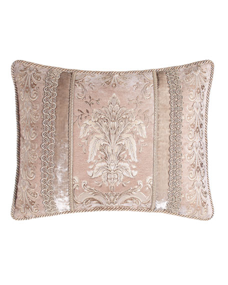 Dian Austin Couture Home King Dahlia Pieced Sham