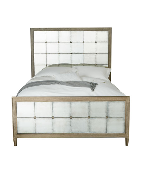 Bernhardt Marisala Mirrored King Bed