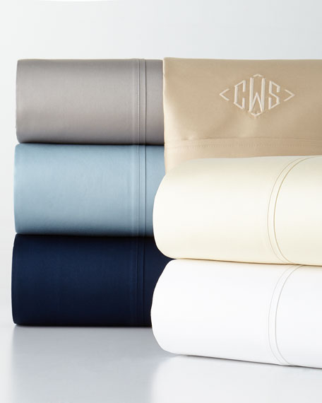 Queen 800TC Bedford Fitted Sheet