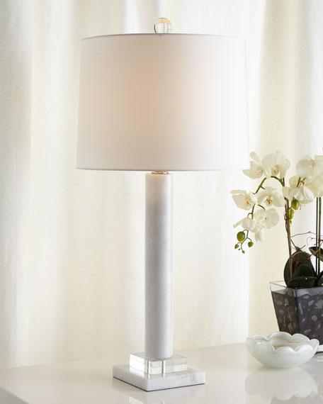 Neimanmarcus Athens White Lamp