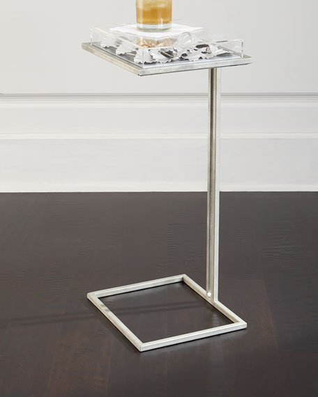 Tommy Mitchell Silver-Leaf Gingko Table