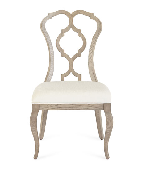 Image 2 of 3: Bernhardt Gant Side Chairs, Pair