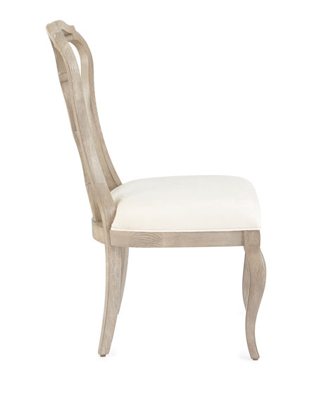 Image 3 of 3: Bernhardt Gant Side Chairs, Pair