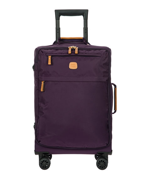 """X-Bag Violet 21"""" Carry-on Spinner Luggage"""