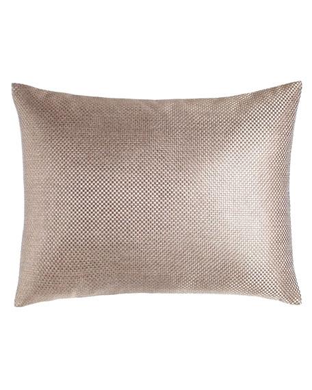 Fino Lino Linen & Lace Standard Soho Sham