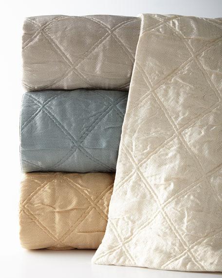 Fino Lino Linen & Lace King Quattro Sham