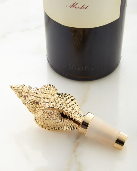 AERIN Conch Shell Bottle Stopper