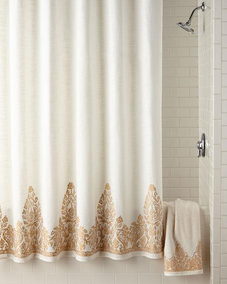 John Robshaw Nadir Shower Curtain Neiman Marcus