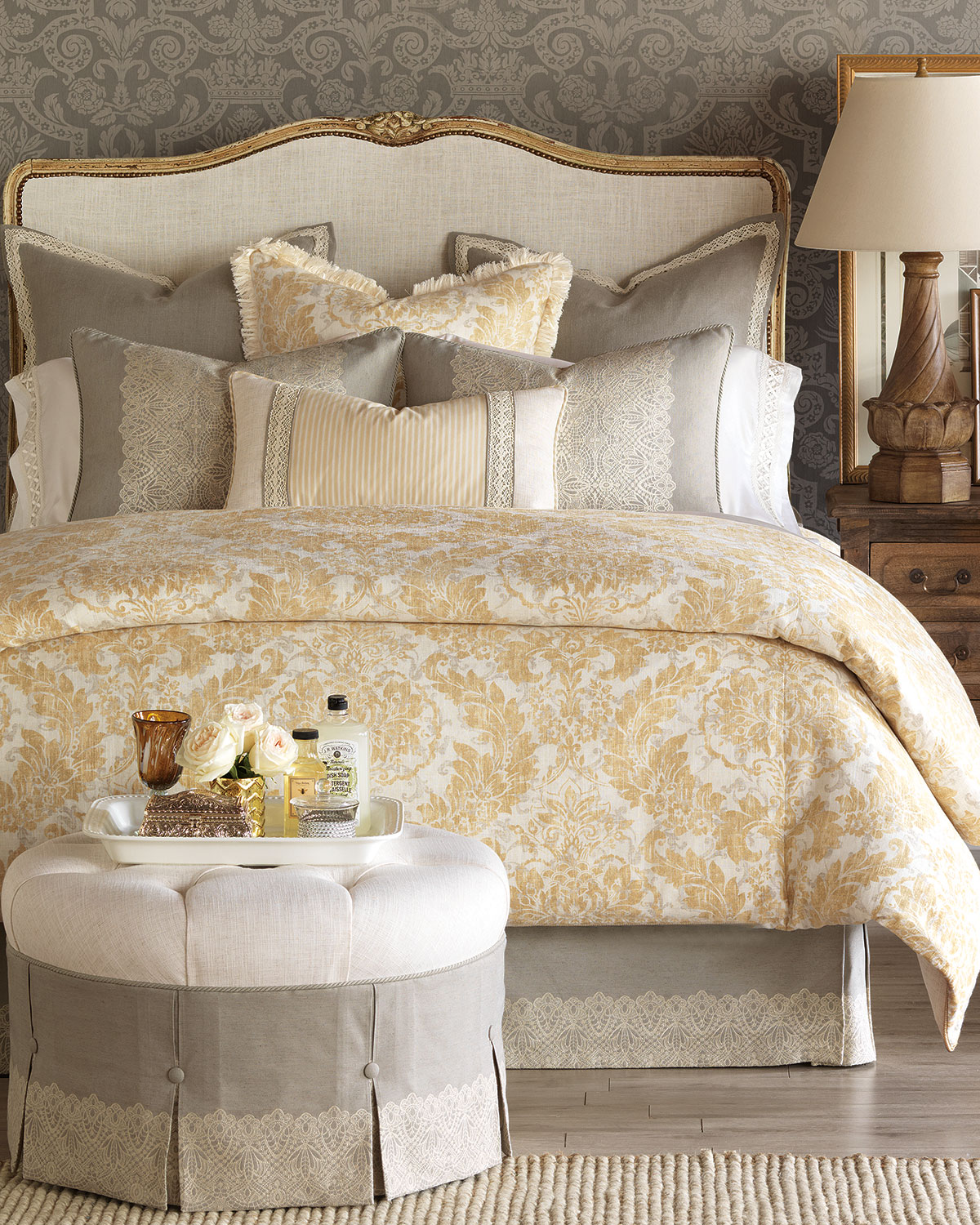 Eastern Accents Oversized Queen Sabelle Duvet Cover Neiman Marcus