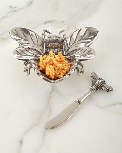 Bumble Bee Dip Dish Set