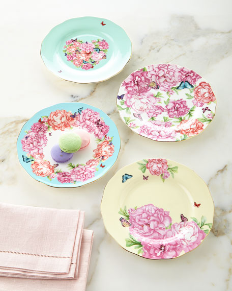 Miranda Kerr for Royal Albert Accent Plates, 4-Piece