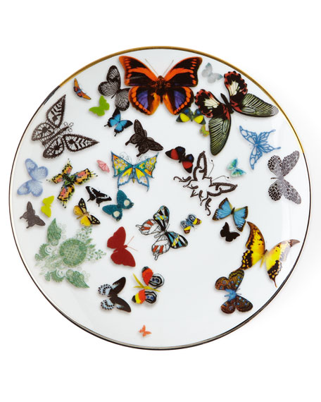 Image 1 of 1: Butterfly Parade Dessert Plate