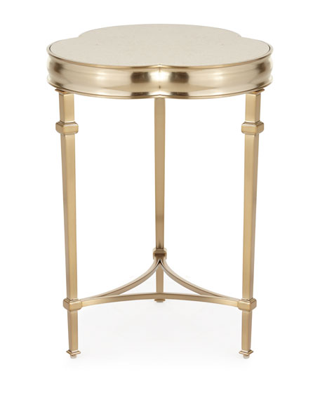 Silas Trefoil Side Table