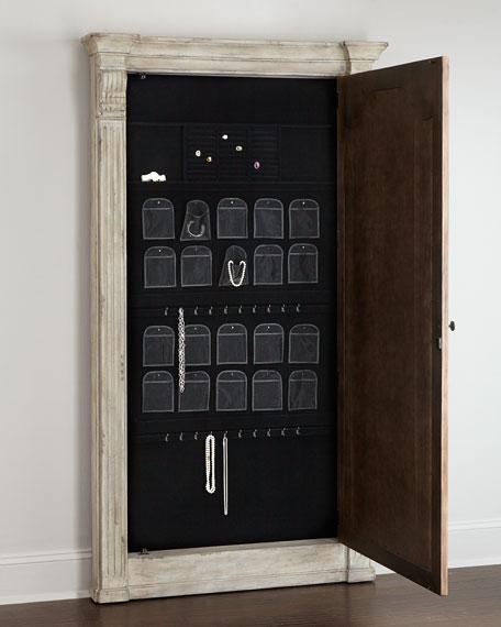 Meara Jewelry Storage Mirror