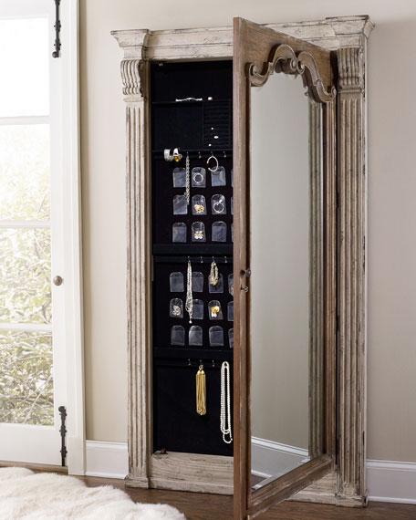 Hooker Furniture Meara Jewelry Storage Mirror