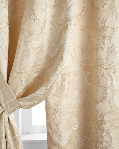 Two 52W x 96L Charlotte Curtains