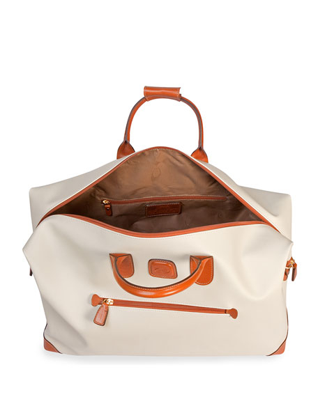 "Image 2 of 2: Bric's Firenze Cream 18"" Cargo Duffel Luggage"