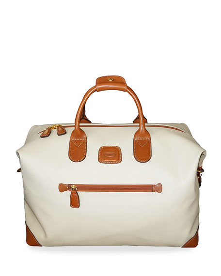 "Image 1 of 2: Bric's Firenze Cream 18"" Cargo Duffel Luggage"