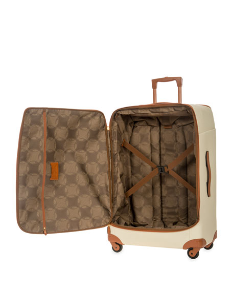 "Firenze Cream 32"" Light Spinner Luggage"