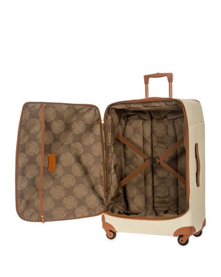 "Firenze Cream 32"" Light Spinner Luggage"