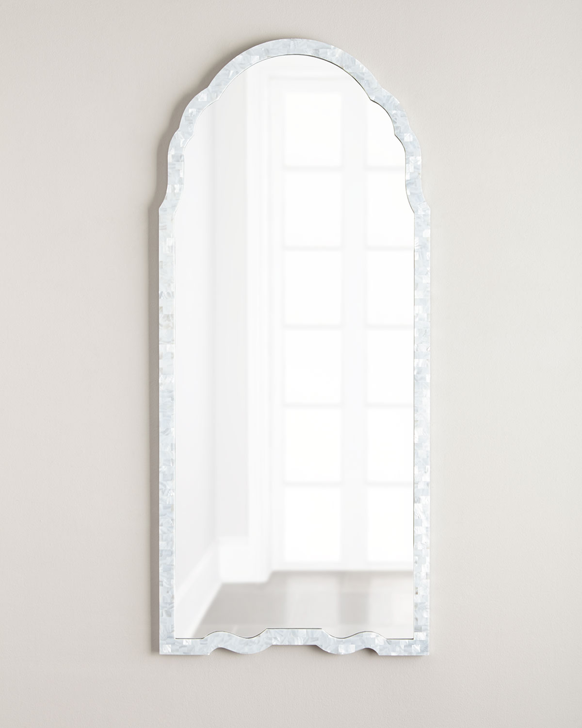 Mother Of Pearl Framed Mirror Neiman Marcus