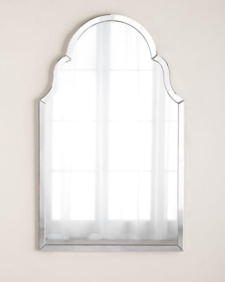 Silvered Mirror-Framed Mirror