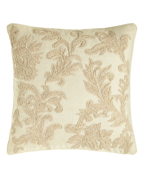 Pacific Coast Home Furnishings Country Toile Embroidered Floral
