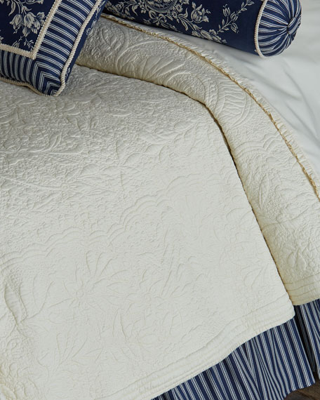 Queen 3-Piece Country Toile Comforter Set
