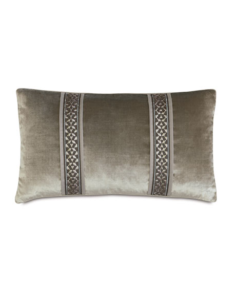 "Eastern Accents Ezra Bolster Pillow, 15"" x 26"""