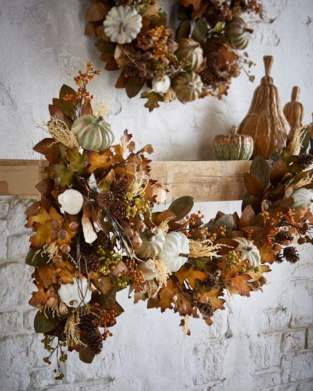 Autumn Harvest 6' Garland