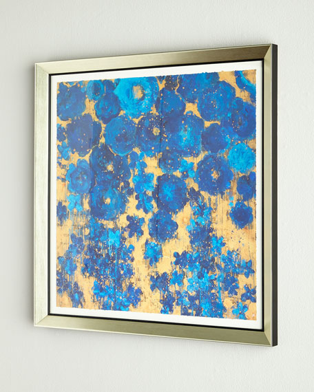 """RFA Fine Art """"Floral #8"""" Abstract Giclee on Paper Wall Art"""
