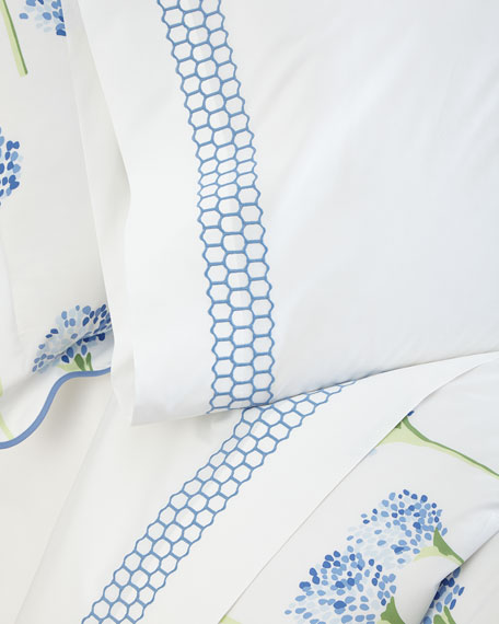 Matouk Two Standard Liana 520 Thread Count Pillowcases