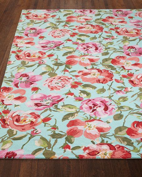 Dash & Albert Rug Company Rose Parade Rug