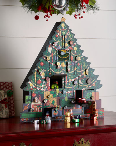 byers choice christmas tree advent calendar