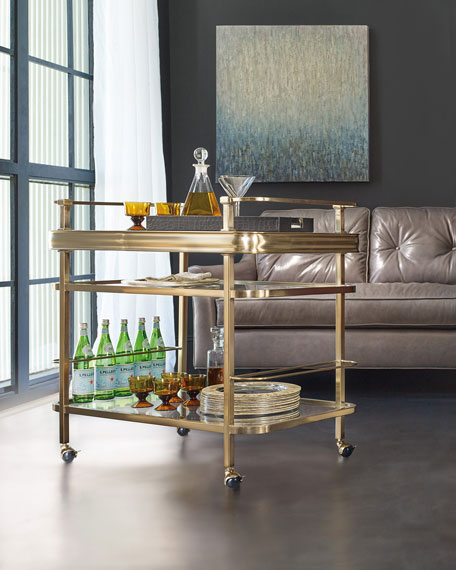 Hooker Furniture Veronica Bar Cart