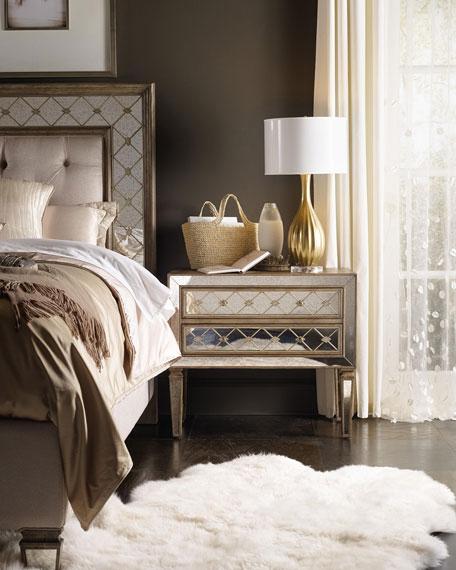Hooker Furniture Ilyse Mirror-Trimmed Chest