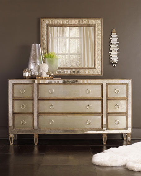 Hooker Furniture Ilyse Mirror-Trimmed Dresser