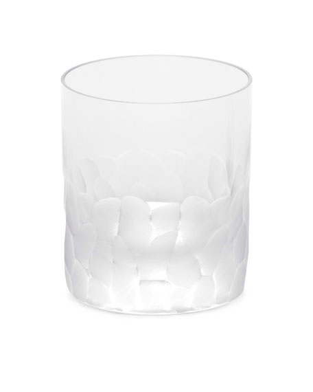 Moser Clear Pebbles Double Old-Fashioned