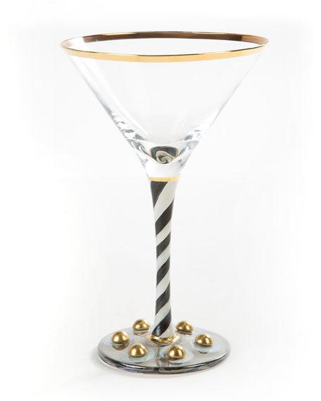 MacKenzie-Childs Tango Martini Glass